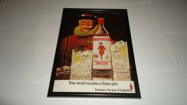 BEEFEATER gin-1978 framed original advert - $14.71