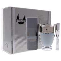 Paco Rabanne Invictus 3  Pc Gift Set - $228.28