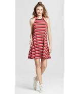 Mossimo Knit Halter Dress Red Navy Blue White Stripe NWT Sz XS-XXL Soft ... - $17.99