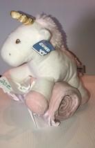 NEW! GUND Plush Unicorn & Matching Pink Blanket, Beautiful Stuffed Animal Plush - $24.99