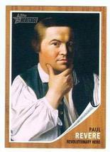 Paul Revere trading Card (United States Revolutionary War Hero) 2009 Top... - $3.00