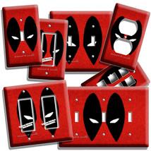 Deadpool Face Mask Comics Superhero Light Switch Outlet Wall Plate Room Hd Decor - $10.99+