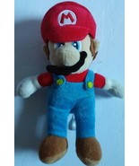 "Super Mario Bros. Wii Nintendo 2010 8"" Plush Bean Bag Mario Stuffed Figu... - $11.29"