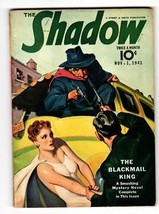 Shadow 1941 Nov 1- Street And SMITH-RARE Pulp Magazine - $181.88