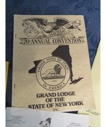 Sons of Italy New York Convention 1975 1976 Report Program Minutes  - $19.92