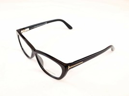 Tom Ford Authentic New Eyeglasses Frame TF5227 001 Black Acetate Italy Made - $180.37