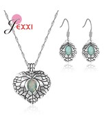 Elegant Retro Style Jewelry Set For Women Original 925 Sterling Silver P... - $12.55