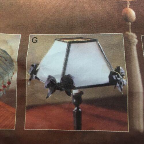 Pendant Light Lamp Shade Sewing Pattern Vogue Patterns 5 Styles Uncut