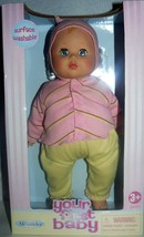 """Madame Alexander Your First Baby 14"""" Soft Body Surface Washable Doll - $28.00"""