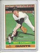 (b-30)  1976 Topps #157: Mike Caldwell - $0.50