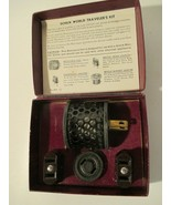 Vintage Schick World Travelers Shavers Electric Electricity Kit No. 4918  - $12.86