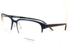 Jhane Barnes Area ST STEEL Men Eyeglasses 56-17-145  Semi Rimless Frames - $89.07