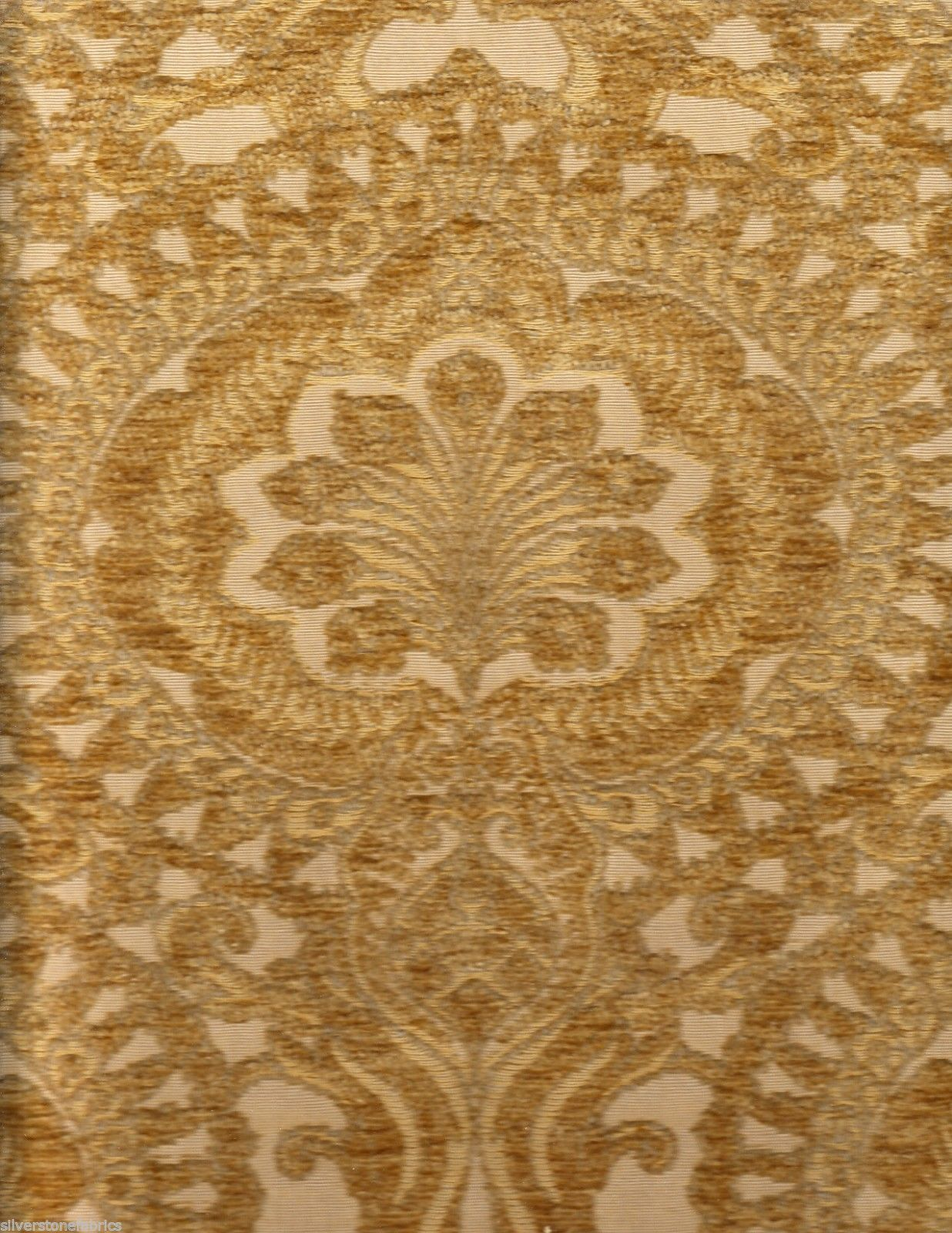 15.125 Beacon Hill Upholstery Fabric Lalonde Burnished Gold Floral 162030 DG2