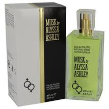 Alyssa Ashley Musk by Houbigant Eau De Toilette Spray 6.8 oz - $40.60