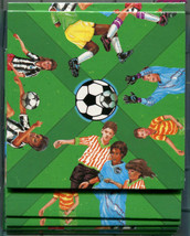 B Dazzle Soccer Scramble Squares Brain Twister Puzzle  - $14.84