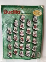 Bucilla Tiny Treasures Cross Stitch Christmas Ornament Kit #83991 Tiny S... - $19.75