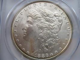 1886 , Morgan Silver Dollar , PCGS , MS 64 - $99.00