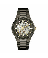 Caravelle New York by Bulova Men's Automatic Gunmetal Band 43mm Watch 45... - $151.07 CAD