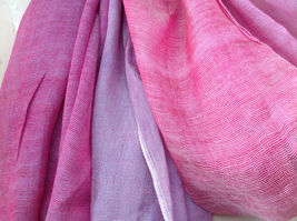 Pink Watercolor Fashion Scarf 68 inches long 24 inches wide image 5