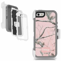 OtterBox Defender Series Case iPhone 5 iPhone 5S - Real Tree Pink Camo B... - £5.32 GBP