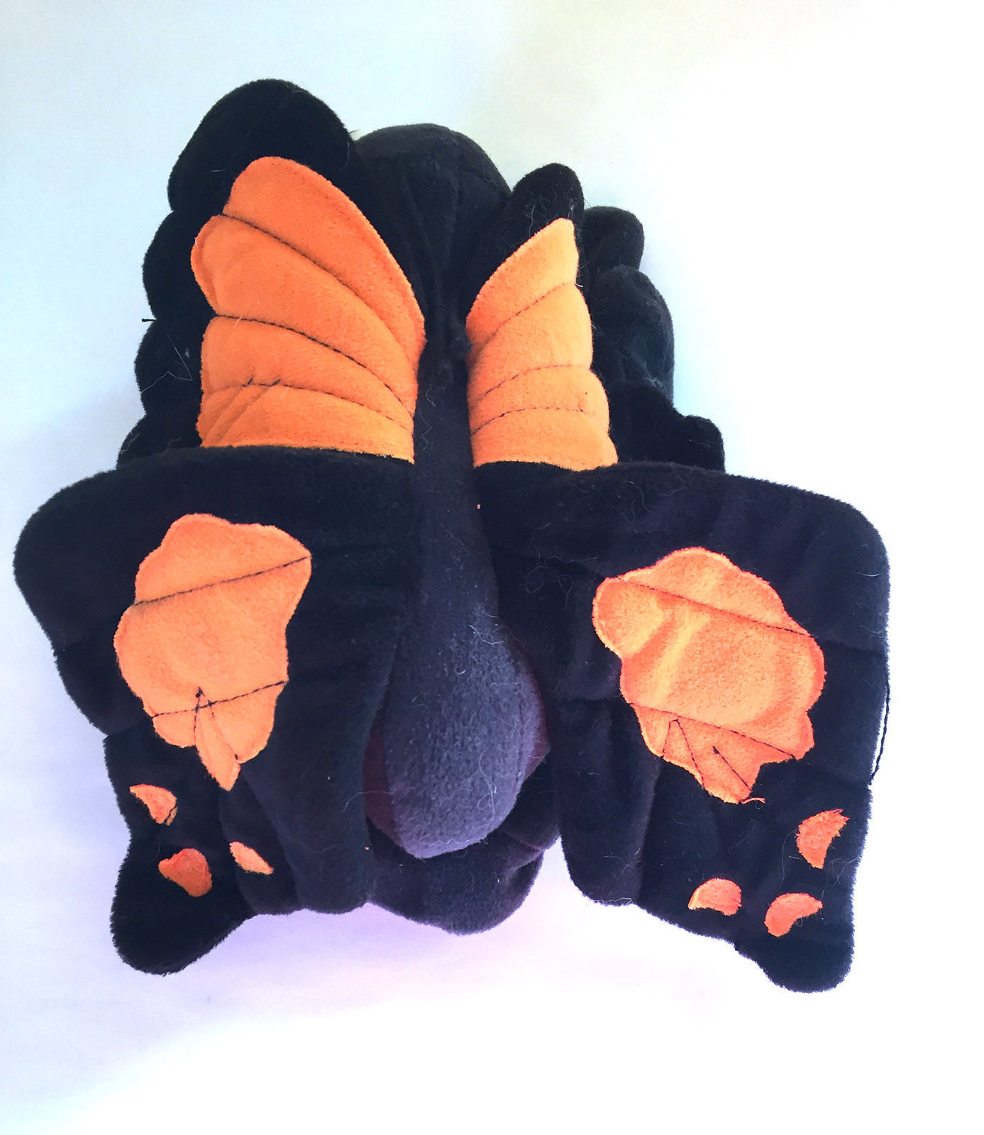 "Primary image for Butterfly Puppet Plush 6 1/2"" Black and Orange"