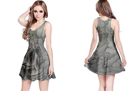 Day of Dead Women's Reversible Dress - $22.80+