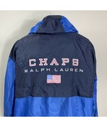 Vintage Chaps Ralph Lauren Jacket Flag Windbreaker Coat Sport Stadium - $49.99
