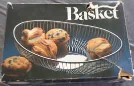 Leonard Silver Company Silver Plate Wire Bread Basket - With Box - VGC -... - $39.59