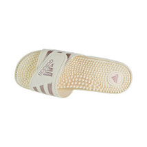 Adidas Adissage Women's Slides Cloud White-Vapour Grey Metallic-Cloud B4... - $34.95