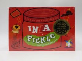 """NEW- In A Pickle Game by Gamewright """"The What's in a Word Game"""" Sealed 2004 - $9.86"""