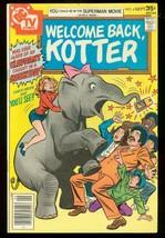 WELCOME BACK KOTTER #6 1977-JOHN TRAVOLTA TV-ELEPHANT FN - $25.22