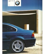2001 BMW 3-SERIES Coupe brochure catalog 1st Edition US 01 325Ci 330Ci - $8.00