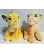 "Disney Just Play Lion King Plush Simba & Nala Cubs Stuffed Animal 9"" Set... - $24.24"