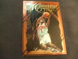 1996-97 Topps Finest w/peel #64 Lindsey Hunter-Detroit Pistons- - $3.12