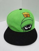 Looney Tunes Marvin the Martian Six Flags Baseball Trucker Hat Cap Snap ... - $21.77