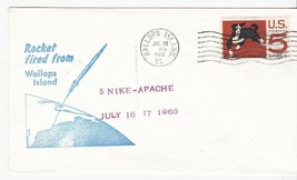 5 NIKE-APACHE ROCKETS FIRED FROM WALLOPS ISLAND VA JULY 18 1966  - $2.98