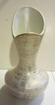 Vintage Royal Haeger Art Pottery 22K Gold Tweed Vase - $28.45