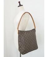 Authentic LOUIS VUITTON Looping GM Monogram Shoulder Tote Bag Purse #32924 - $429.00
