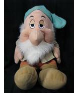 "DISNEY STORE SLEEPY 25"" Large PLUSH from Snow White & Seven Dwarfs, EUC! - $42.31"