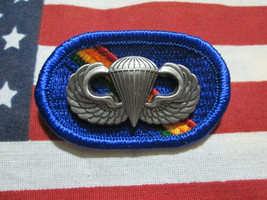Us Army 7TH Special Operations Support Command Para Oval Airborne With Wing - $10.95
