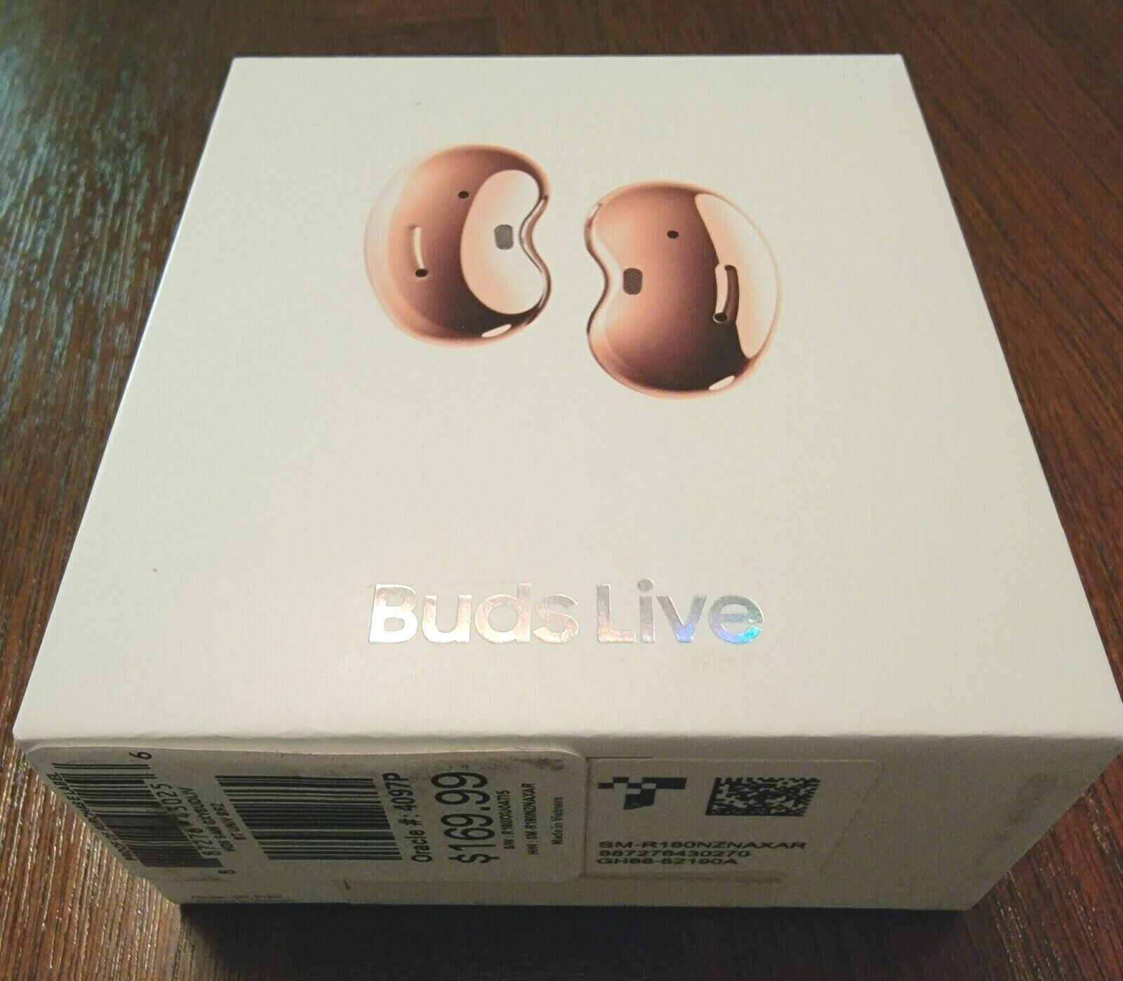 Samsung Galaxy Buds Live ~ Rose Gold ~ True Wireless Earbuds ~ SHIPS FREE