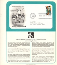 International Soccer, Postal Commemorative Society, 1st Day of Issue, 40... - $2.25