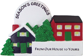 From Our House to Yours Personalized Christmas Tree Ornament - $16.95