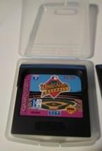 World Series Baseball (Sega Game Gear, 1993) Cartridge Handheld Video Game - $23.75