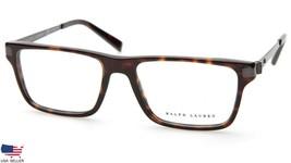 Ralph Lauren Rl 6162 5003 Dark Havana Eyeglasses Frame 53-17-140 (Display Model) - $79.19