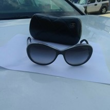Original CHANEL Damen Sonnenbrille 5219 c1311/3c 57/17 - $245.71