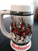 Budweiser 1933-1983  Clydesdales - 50th Anniversary Stein Made in Brazil by Cera image 3