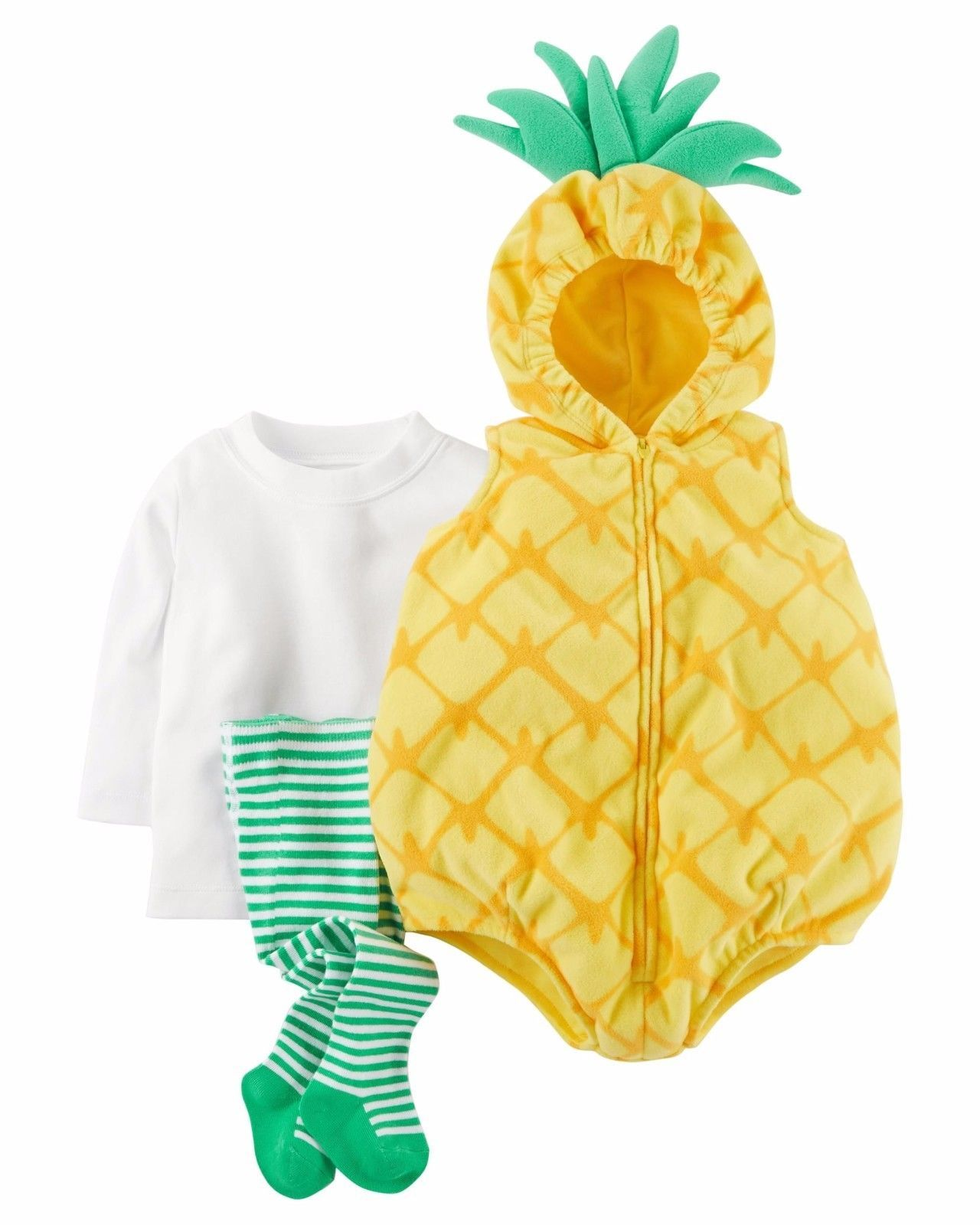 NEW NWT Carters Girls Pineapple Halloween Costume Size 18 Months