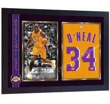 Shaquille O'Neal Los Angeles Lakers NBA signed Basketball kobe autograhe... - $20.50
