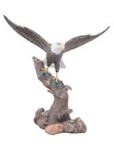 "NEW American Bald Eagle Hand Painted 9.5"" Mantel Sculpture 'Murica Bird ... - $11.36"